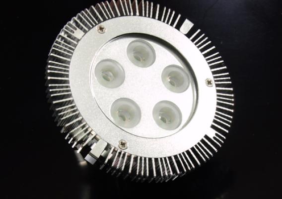 LED PAR36 WW 5 LED